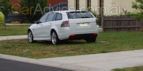 Holden VE Commodore Wagon spy photos