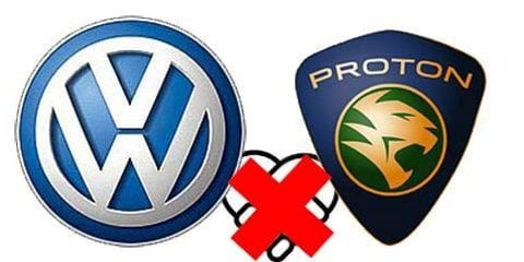 Volkswagen and Proton end talks