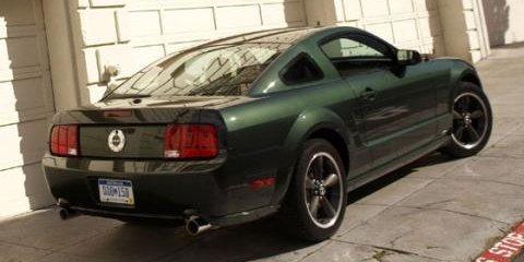 Bullitt tribute Mustang