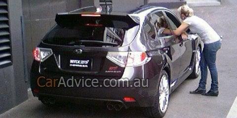2008 Subaru Impreza WRX STi Australian spy photos