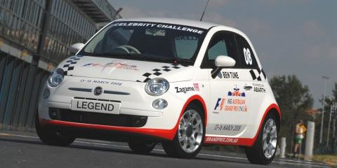 Fiat 500 to be new Celebrity Race car