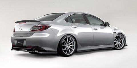 Mazda6 MPS renderings leaked
