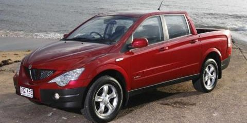 2008 Ssangyong Actyon Sports review