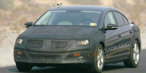 Volkswagen Passat Coupe spy photos