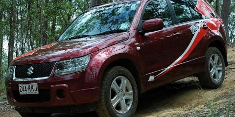 2008 Suzuki Grand Vitara diesel first steer
