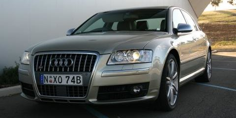 2008 Audi S8 review