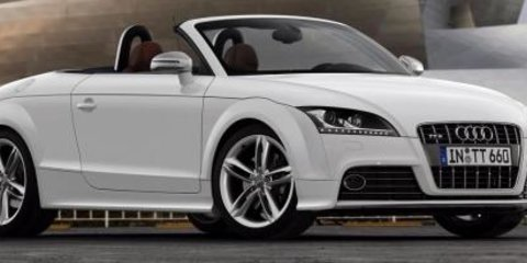 2008 Audi TTS ready for action