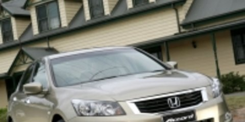 2008 Honda Accord Melbourne debut