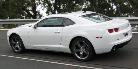 Chevrolet Camaro testing on Australian roads