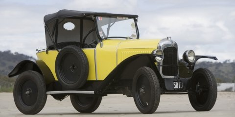 Citroen makes it into Australia's National Museum