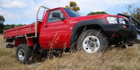 2008 Nissan Patrol Cab Chassis review