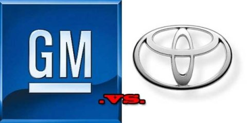 GM vs Toyota - down to the wire