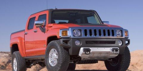 2009 Hummer H3T pick-up revealed