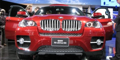 BMW X6 - 2008 Detroit Auto Show