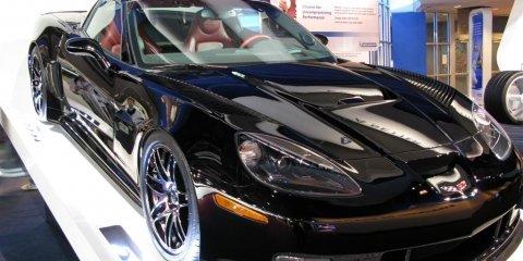 Jay Leno's Corvette C6RS - 2008 Detroit Auto Show