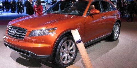 Infiniti FX35 FX45 ES35 - 2008 Detroit Auto Show
