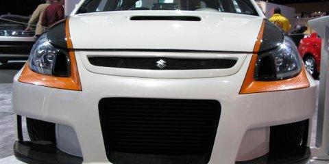 Suzuki SX Force concept - 2008 Detroit Auto Show