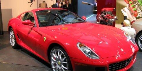 Ferrari Stand - 2008 Detroit Auto Show