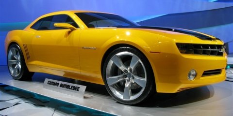 Chevrolet Camaro Bublebee - 2008 Detroit Auto Show