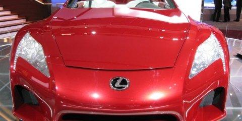 Lexus LF-A - 2008 Detroit Auto Show