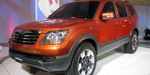 Kia Borrego - 2008 Detroit Auto Show