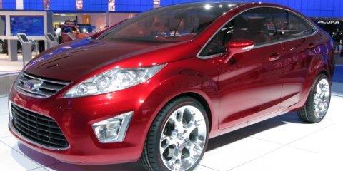 Ford Verve Concept - 2008 Detroit Auto Show