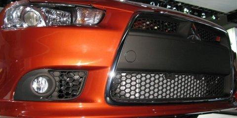 Mitsubishi Lancer Ralliart - 2008 Detroit Auto Show