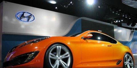 Hyundai Genesis Sports Coupe - 2008 Detroit Auto Show