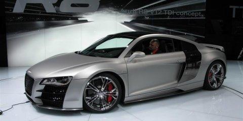 Audi R8 V12 TDI - 2008 Detroit Auto Show