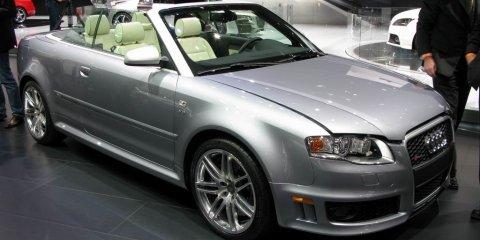 Audi RS4 Cabriolet - 2008 Detroit Auto Show