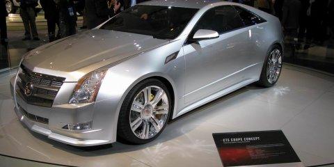 Cadillac CTS Coupe Concept - 2008 Detroit Auto Show