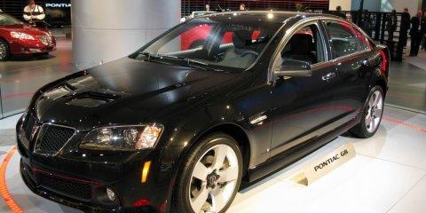 Pontiac G8 GT - 2008 Detroit Auto Show