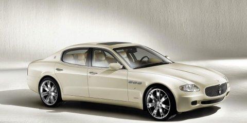 Maserati releases the Quattroporte Collezione Cento