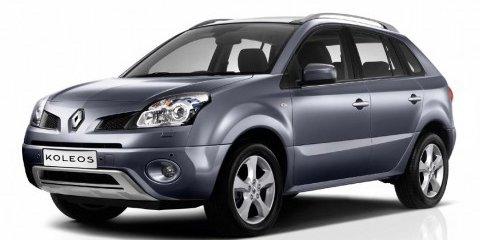 2008 Renault Koleos crossover