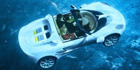 Rinspeed's sQuba underwater car