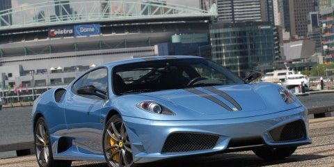 Ferrari's 430 Scuderia to star in Melbourne