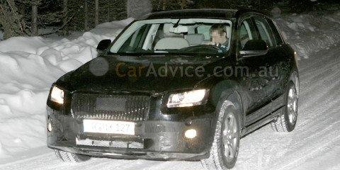 2009 Audi Q5 spy shots