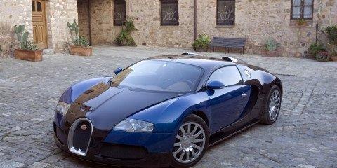 Bugatti Veyron at Melbourne Motor Show