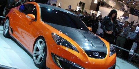 Melbourne Motor Show: Hyundai Genesis Coupe