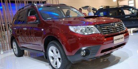 Melbourne Motor Show: Subaru Forester