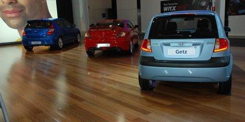 Melbourne Motor Show: Hyundai stand