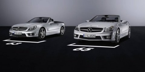 Mercedes SL 63 AMG and SL 65 AMG Roadsters