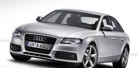 2008 Audi A4 at Melbourne Show