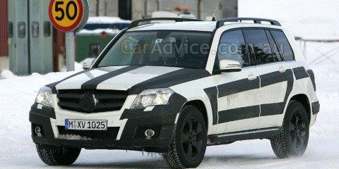 2009 Mercedes GLK spy shots
