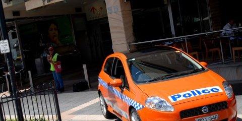 Sydney cops a Fiat police car