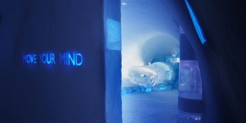 Saab 'Move Your Mind' cold room