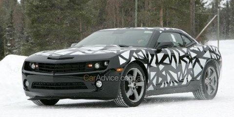 2009 Chevrolet Camaro spy photos