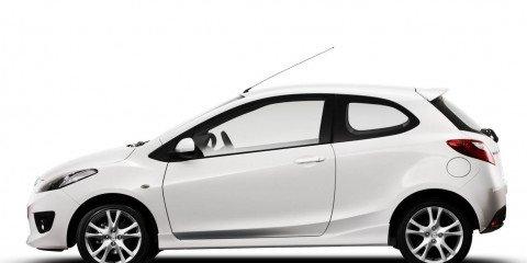 New Mazda2 three-door hatchback