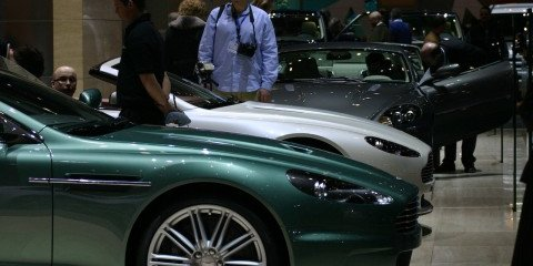 Aston Martin stand 2008 Geneva Motor Show