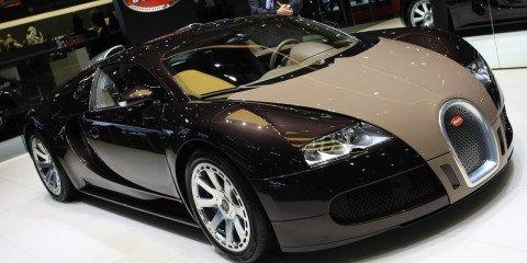Bugatti Veyron Hermes 2008 Geneva Motor Show